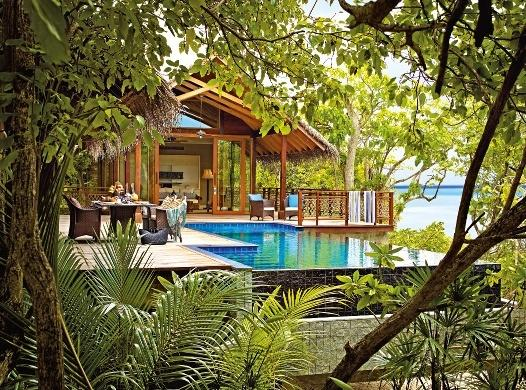 Shangri-la?s Villingili Resort and Spa, Maldivi 1