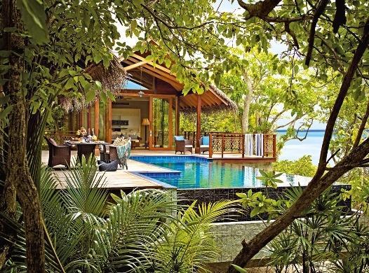 Shangri-la?s Villingili Resort and Spa, Maldivi 1