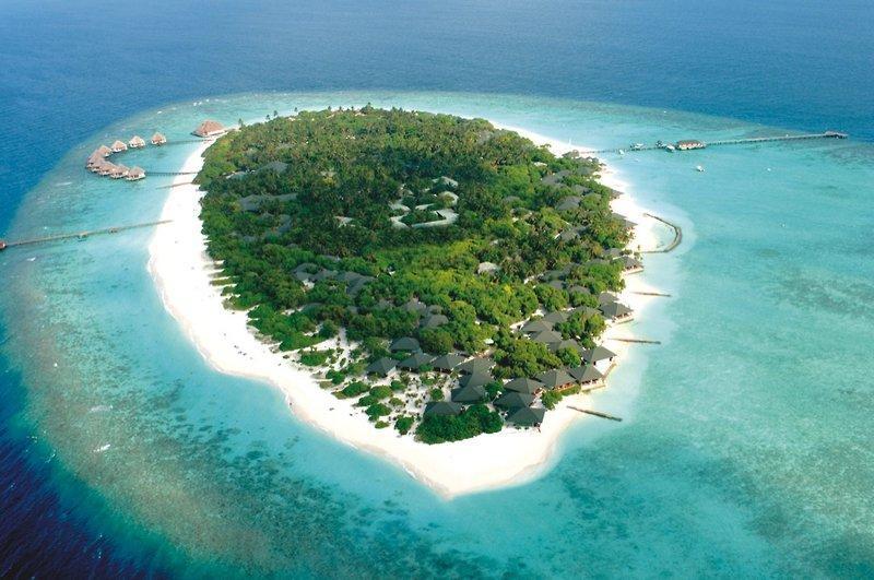 Adaaran Select Meedhupparu, Maldivi 1