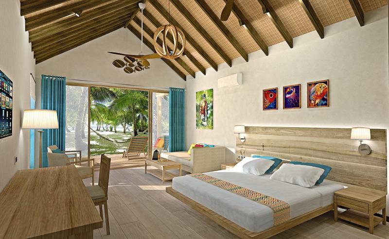 Reethi Faru Resort, Maldivi 1